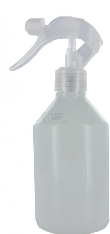 Trigger sprayflasche 250ml weiß 28mm