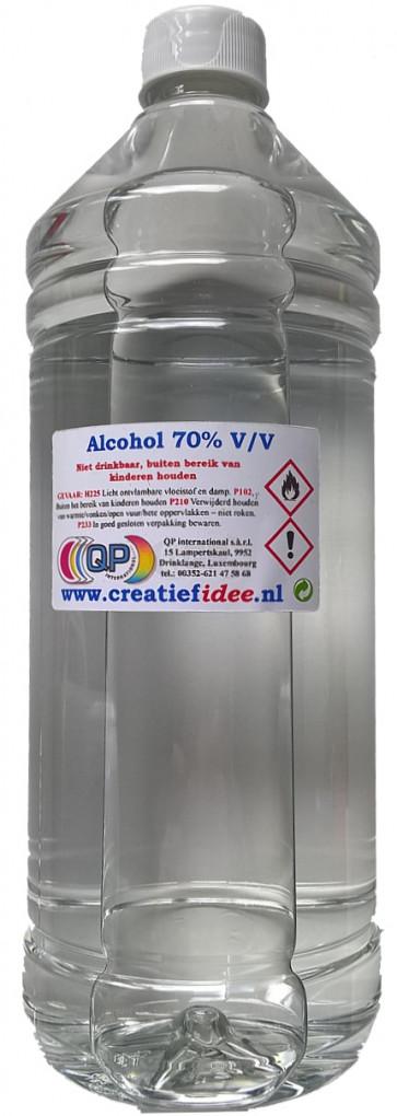 Chirurgischen Alkohol (70% 1% IPA, 1% MEK en Bitrex) Nachüfllung 1 liter