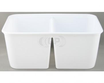 Kunststoffschale 2 * 500ml + Deckel 25 Stück