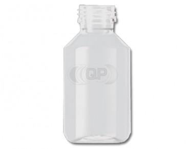 Flasche 100ml transparent PET/ Kunststoff 28mm Öffnung