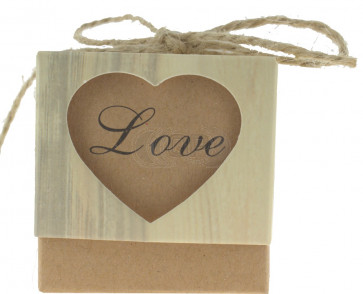 Geschenkbox Love 5 Stück (5*5*5 Zm)