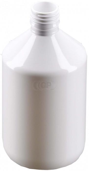 Flasche 500ml weiß PET/ Kunststoff 28mm Öffnung