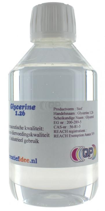 Flüssige Glycerin 1,26 500ml