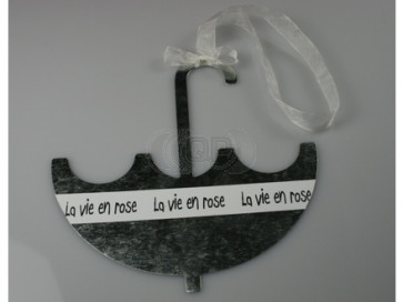 Anhänger metall Regenschirm 11 cm