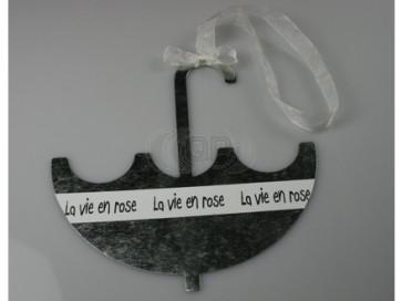 Anhänger metall Regenschirm 16 cm