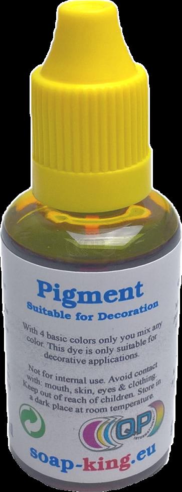 Mischfarbe dekorative Gelb (Nicht für Kosmetik) 30ml