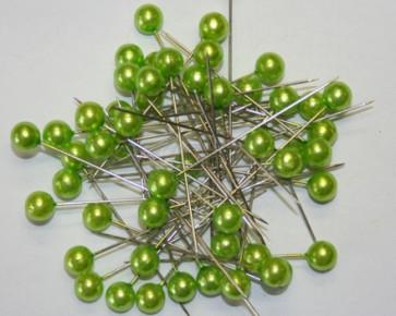Perlen-Stifte / Perlknöpfe Ø 9 mm grun 50 Stück [1424]