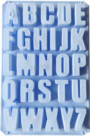 QP0075S Silikonform: Alphabet (sehr große Buchstaben)