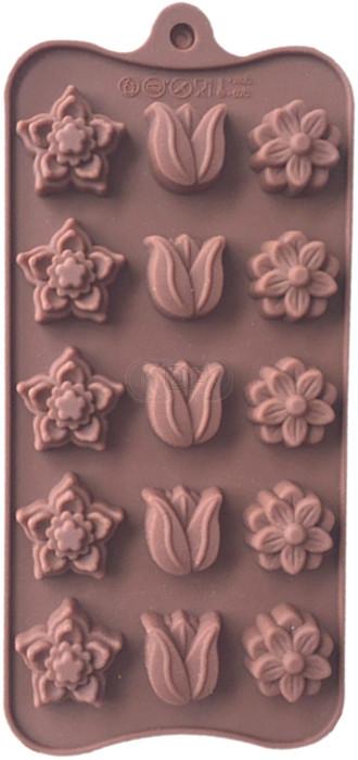 QP0080S Silikonform: Blumen