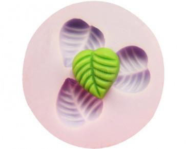 QP0089S Silikonform: Blätter