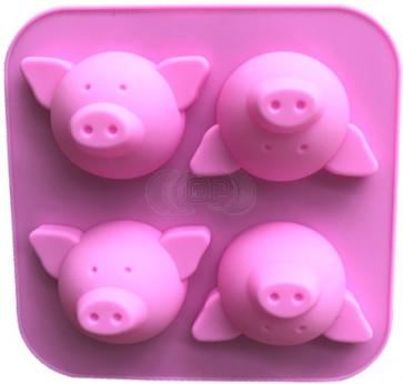 QP0098S Silikonform: Schweine