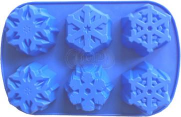 QP0112S Silikonform: Schneeflocken