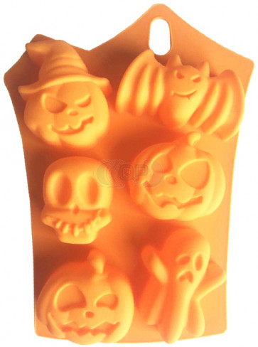 QP0116S Silikonform: Halloween