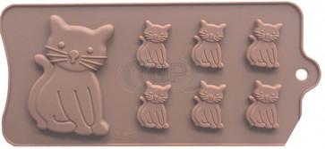 QP0130S Silikonform: Katze