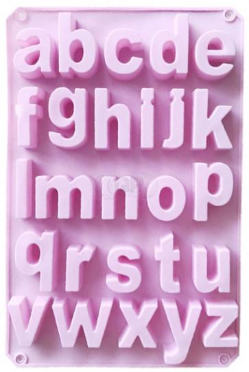QP0154S Silikonform: Alphabet sehr große Buchstaben