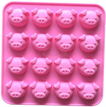 QP0163S Silikonform: Schweine