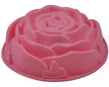 QP0006S Silikonform: Rose (groß)