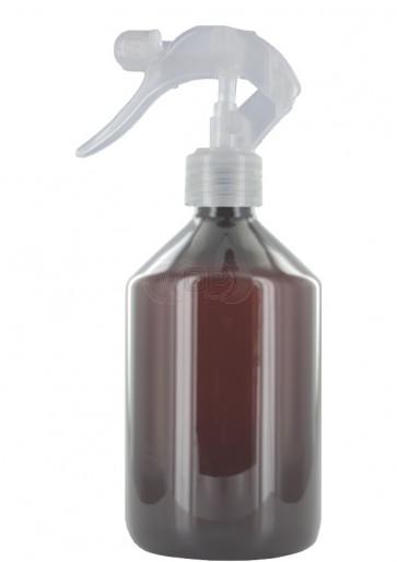 Trigger sprayflasche 500ml braun 28mm