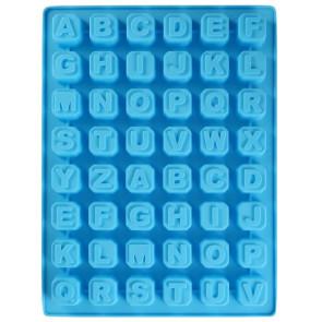 QP0001S Silikonform: Alphabet + Ziffern