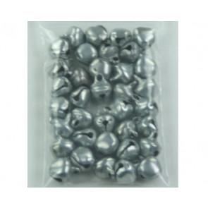 Anhänger Glocken Silber ± 35 Stück 6mm
