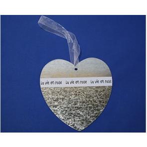 Anhänger metall Herz 19 cm
