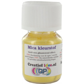Glimmer / mica Caribian Yellow ±20ml