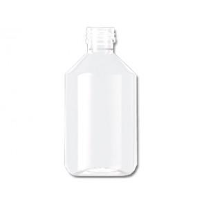Flasche 250ml transparent PET/ Kunststoff ropp 28