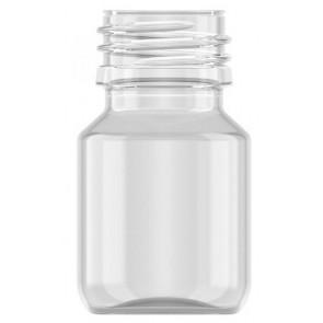 Flasche 30ml transparent PET/ Kunststoff 28mm Öffnung