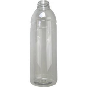 Flasche 1000ml braun PET/ Kunststoff din 38