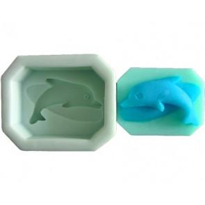 QP0069S Silikonform: Delphin