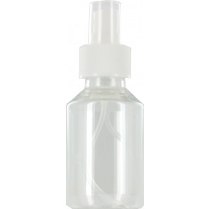 Sprayflasche 100ml transparent 28mm
