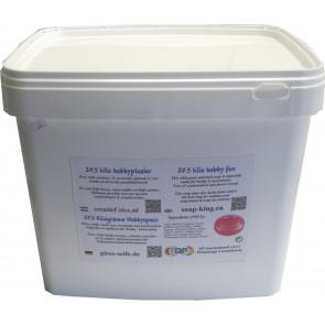 Glyzerin Gießseife Schwitzt & Kondensiert nicht weiß 25 kilo